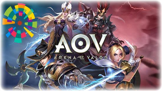 aov asian games 2018 - Asian Games Arena Of Valor