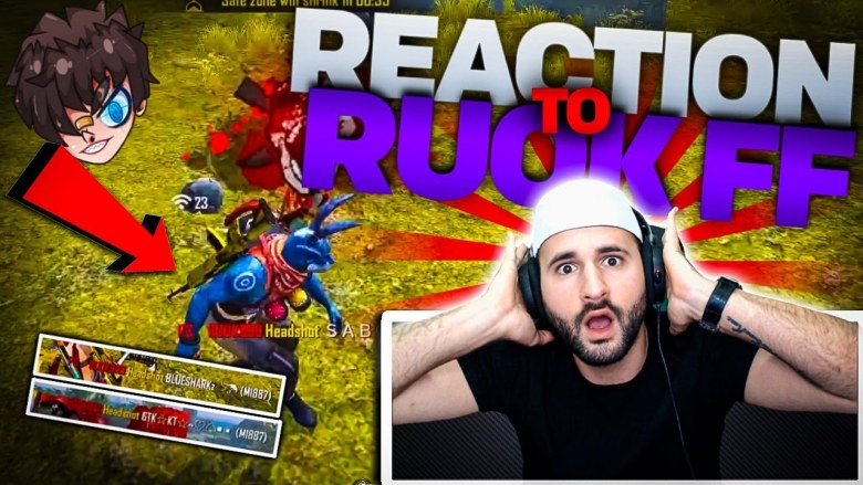 Ruok Free Fire reaction acad1